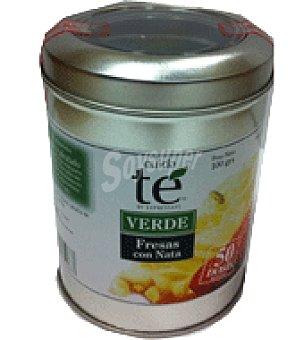 Cuidate Té verde fresas con nata 100 g