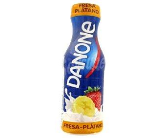 DANONE Yogur beber fresa/plátano 575ml