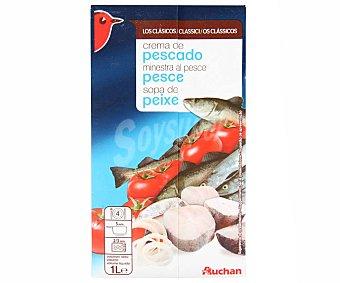 Auchan Sopa de pescado Brik de 1 l