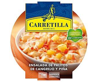 Carretilla Ensalada cangrejo y piña Envase 240 g