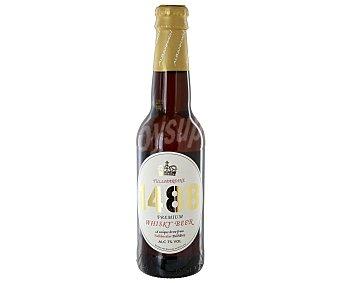 PREMIUM 1448 Cerveza al Whisky 33 Centilitros