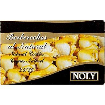 Noly Berberechos de Holanda al natural 25-35 piezas lata 65 g neto escurrido Lata 65 g neto escurrido