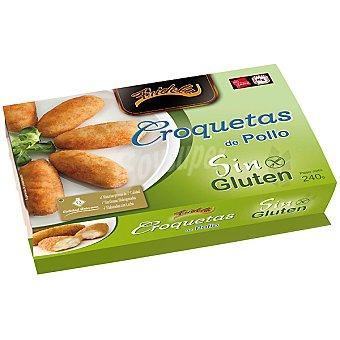 FRIDELA croquetas de pollo sin gluten  bandeja 240 g