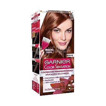 Color Sensation Garnier Tinte rubio carmelo N.6.35 Caja 1 unid