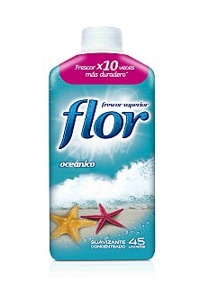 Flor Suavizante concentrado oceánico Botella 50 dosis