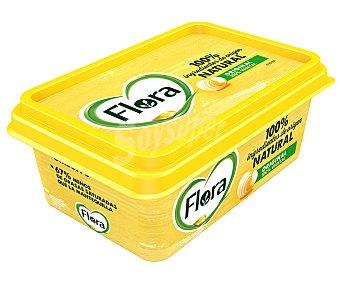 Flora Tarrina de margarina 3/4 con ingredientes de origen 100% naturales y 100% vegetales original 250 g