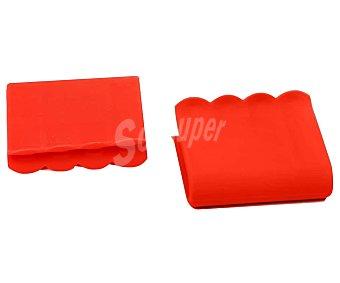 Actuel Asas de aislamiento de silicona, color rojo, actuel Pack de 2
