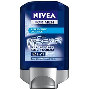 Nivea After shave Artic Freeze refrescante Cool Kick gel fluido 2 en 1 For Men frasco 100 ml 1 frasco 100 ml