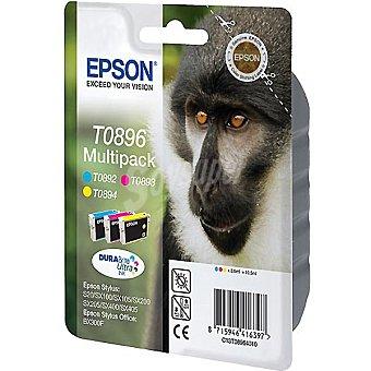 Epson Cartucho de tinta multipack cuatricolor Stylus T0896