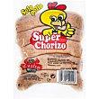 Súper chorizo parrillero de pollo Bolsa 500 g CUATRO RIOS