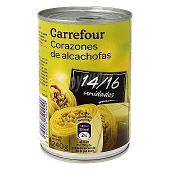 Carrefour Corazones de alcachofas 14/16 piezas 240 g