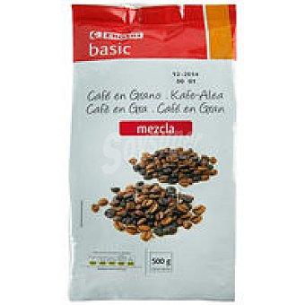 Eroski Basic Café en grano mezcla Paquete 500 g