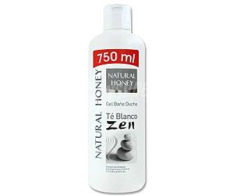 Natural Honey Gel de baño y ducha al té blanco Zen Bote de 750 ml