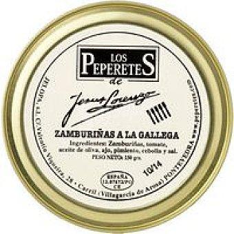 LOS PEPERETES Zamburiñas a la Gallega Lata 150g