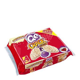 Qé! Barrita de cereales crujientes de chocolate blanco 106 g
