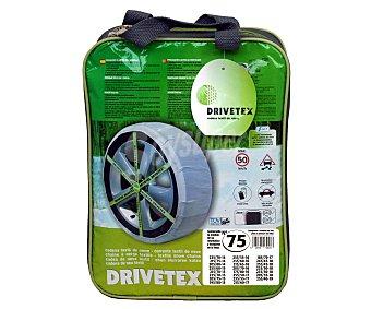 DRIVETEX Cadena de nieve textil, número 75 2 unidades