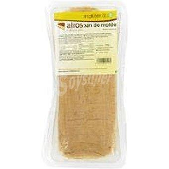 Airos Pan de molde sin gluten Paquete 390 g