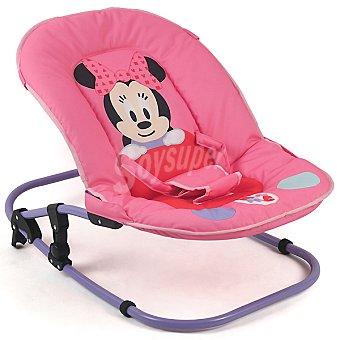 DISNEY Minnie Hamaca completa con cojín para el cabezal en color rosa