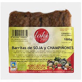 Toki Eco Barritas de soja-champiñon Bandeja 150 g