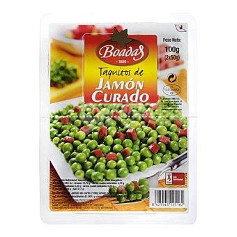 Boadas Jamón taquitos boadas Pack de 2x50 g