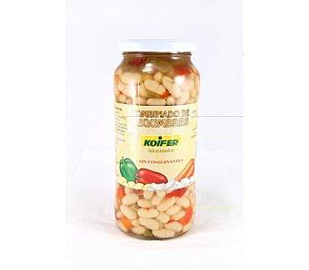Luengo Alubia con verdura Frasco 570 g