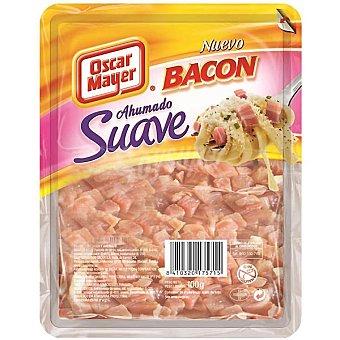 Oscar Mayer Bacon ahumado suave en taquitos Envase 100 g