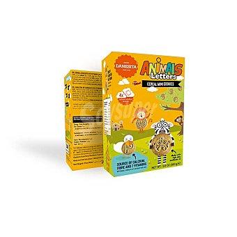 Danesita Animales y Letras mini galletas de desayuno Caja 160 g