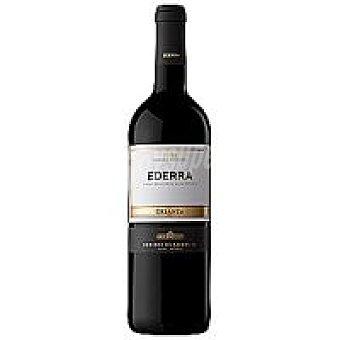 Ederra Vino tinto D.O. Rioja Crianza Botella de 75 cl