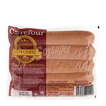 Carrefour Salchichas con queso 200 g