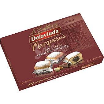 Delaviuda Marquesas rellenas de crema de chocolate Estuche 300 g