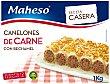 Canelones Caseros con Carne y Bechamel  1 kg Maheso