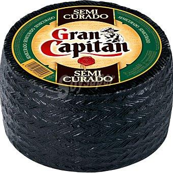Gran Capitán Queso semicurado  3 kg (peso aproximado pieza)