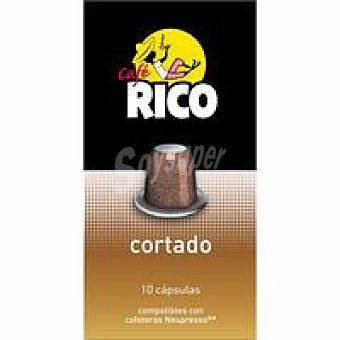 Caferico Café cortado en monodosis Paquete 55 g