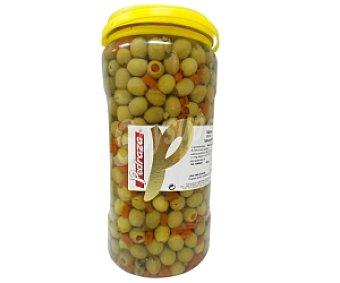 pedraza Aceituna sin hueso, sabor anchoa Bote de 1700 Gramos