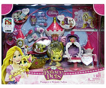Disney Mini Mascota y Peluquería con Accesorios Palace Pets 1 Unidad