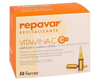 Repavar Ampollas faciales revitalizantes con efecto reafirmante intensivo 10 x 1.5 ml
