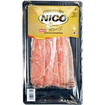 Nico Jamón serrano loncha extrafina Sobre 100 g