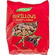 Biopillows cereales con chocolate y avellanas ecológicos envase 375 g Biocop