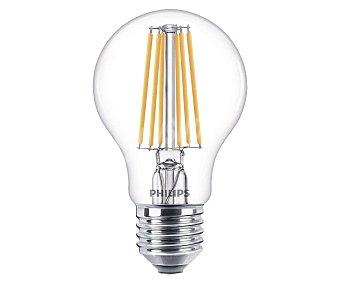 Philips Bombilla led con casquillo E27 filamento 75W y luz fría
