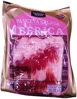 La hacienda del Ibérico Panceta Ibérica salada sin gluten trozo Paquete 300 g