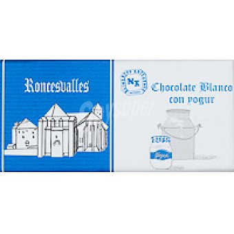 Roncesvalles Chocolate blanco con yogur Tableta 125 g
