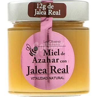 LA OBRERA DEL COLMENAR Miel de azahar con jalea Tarro 300 g