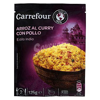 Carrefour Arroz Hindú con pollo y curry 125 g