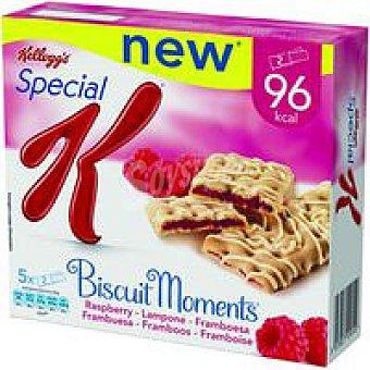 Special K Kellogg's Biscuit Moments de frambuesa Pack 5x25 g