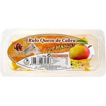 El Pastor Rulo de queso de cabra con mango envase 100 g Envase 100 g