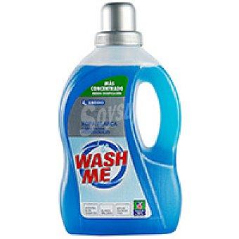 Eroski Detergente líquido ropa blanca Botella 20 dosis