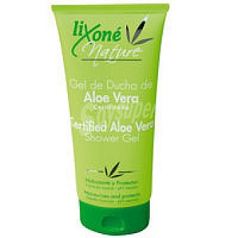 Lixone Gel de baño de aloe certifica Nature Tubo 200 ml