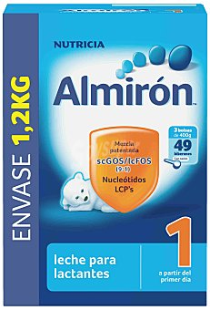 Almirón Nutricia Leche 1 inicio 1,2 kg