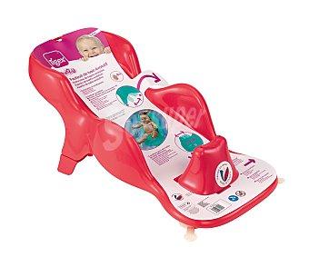 Tigex Sillón de baño anatómico, color rojo, de 0 a 6 Meses