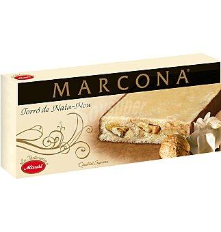 Marcona Turrón nata-nueces 250 G